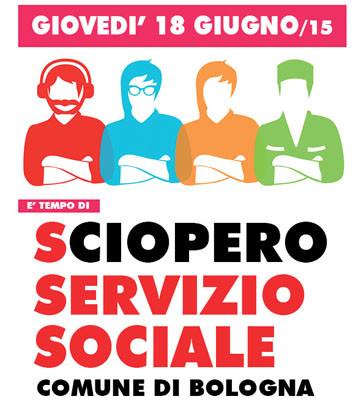 Sciopero 18 maggio servizi sociali bologna