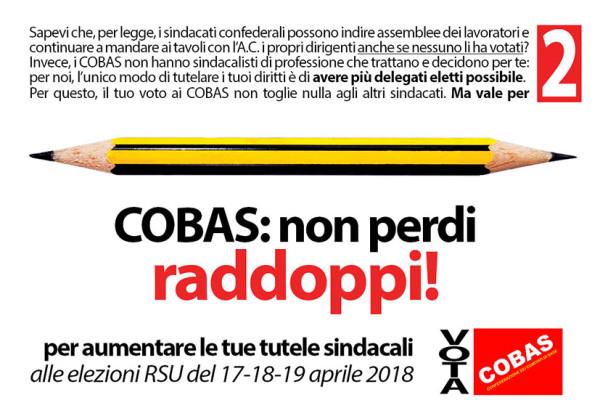 06 COBAS_elezioni_RSU_2018_COBAS_vale_doppio